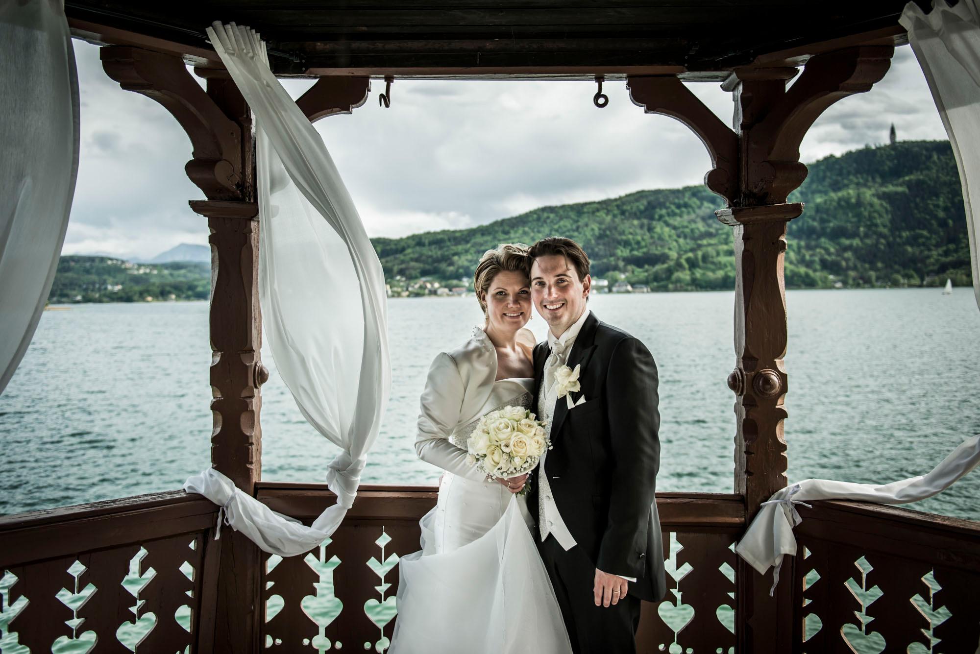 Hochzeitsfotografie Pörtschach Villa Miralago