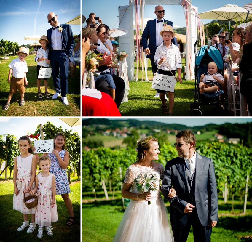Hochzeitsfoto Weingut Holler