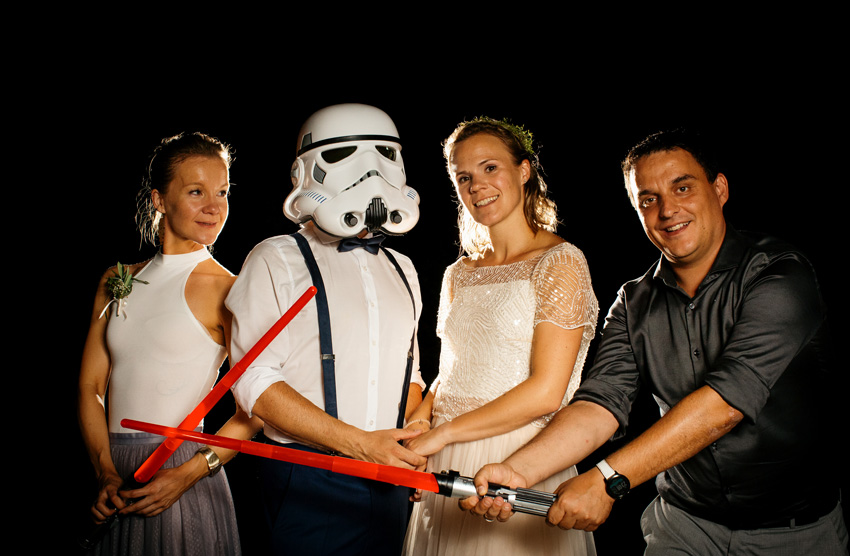 Hochzeitsfotografie Weingut Holler