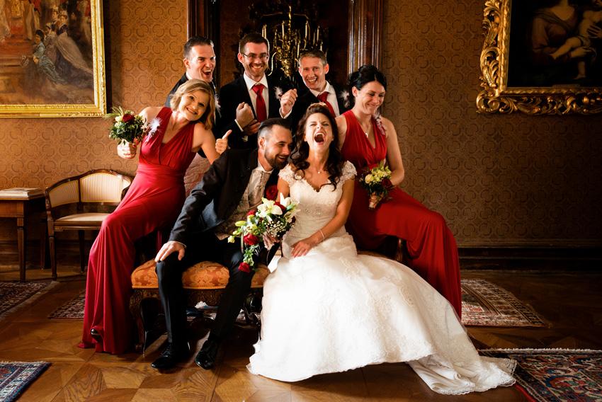 Hochzeitsfotografie Schloss Kornberg, Steiermark