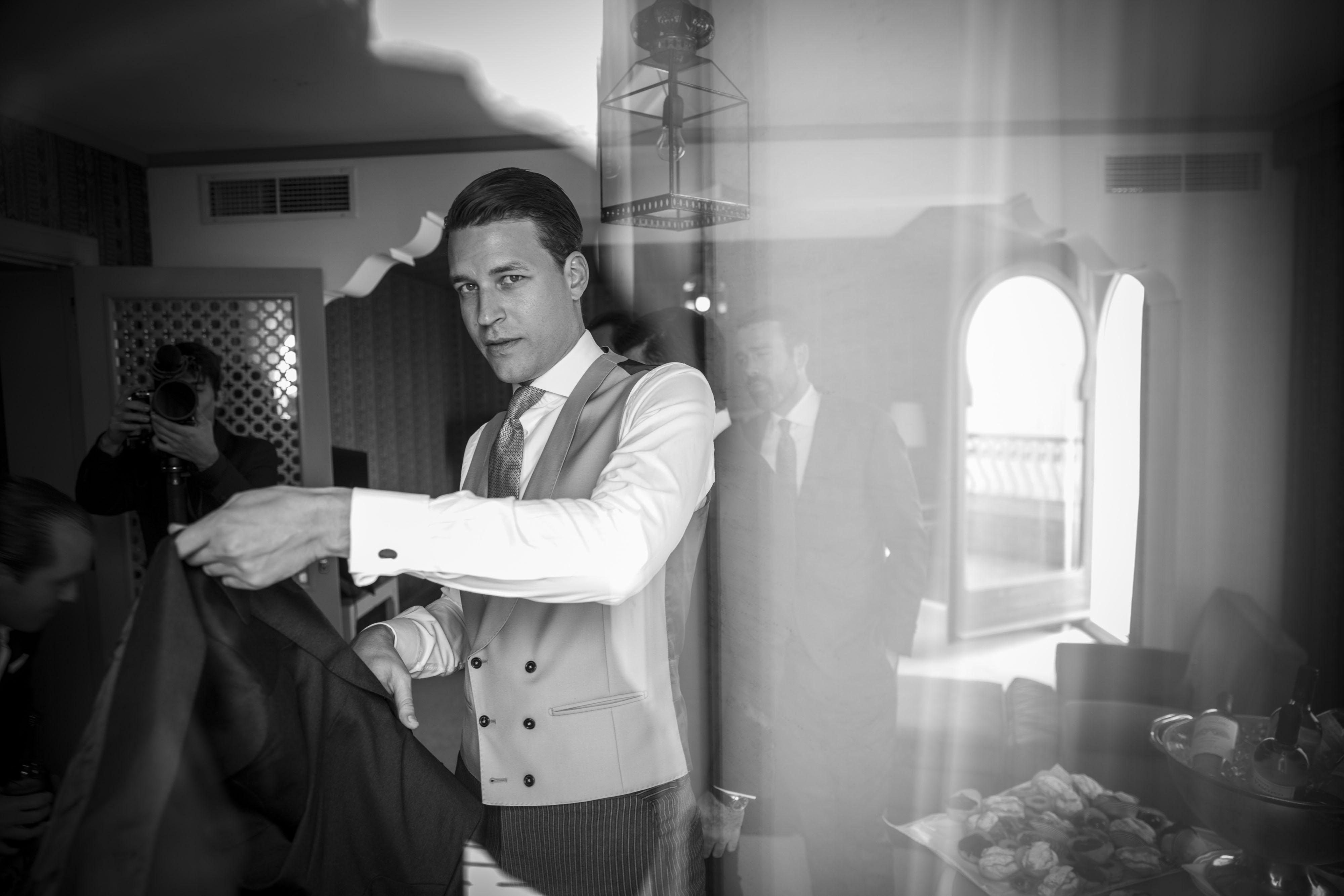 Hochzeit in Venedig , Lido di Venezia, Hotel Excelsior