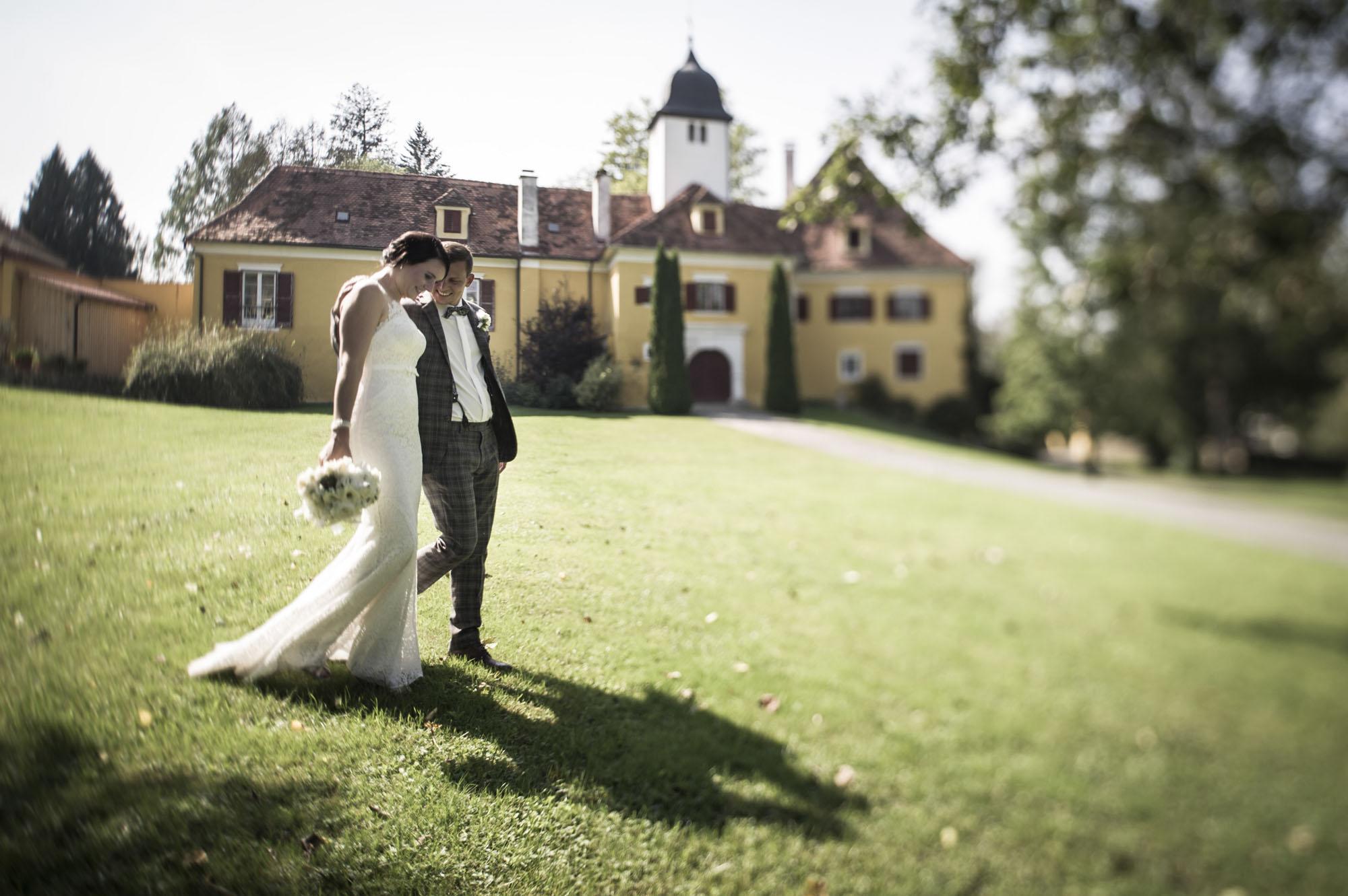 Hochzeitsfotografie Schloss Ottersbach