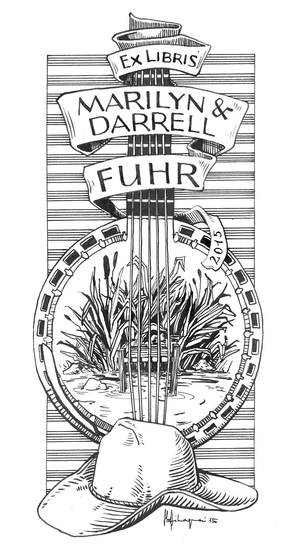 Ex Libris Darrell Fuhr