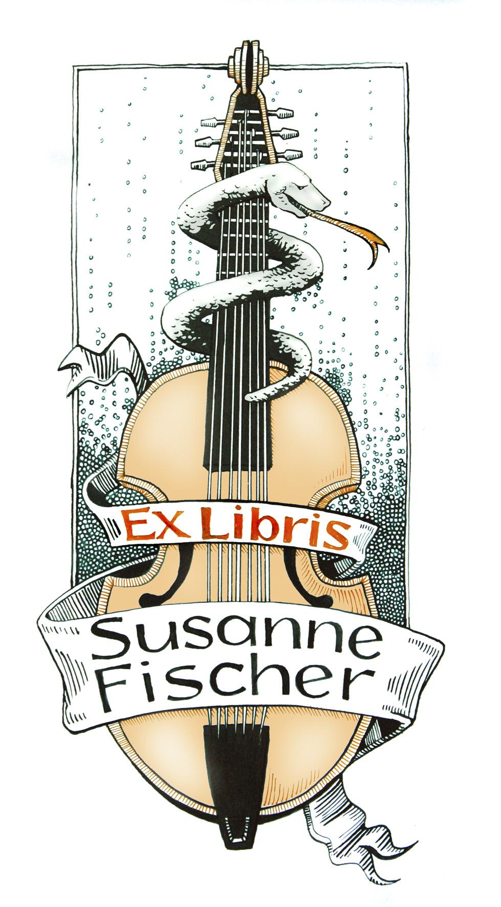 Ex Libris Susanne Fischer