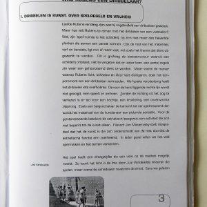 Was Rubens Een Dribbelaar? (2000) - Publicatie Binnenwerk