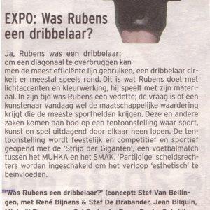 Was Rubens Een Dribbelaar? (2000) - Strijd Der Giganten