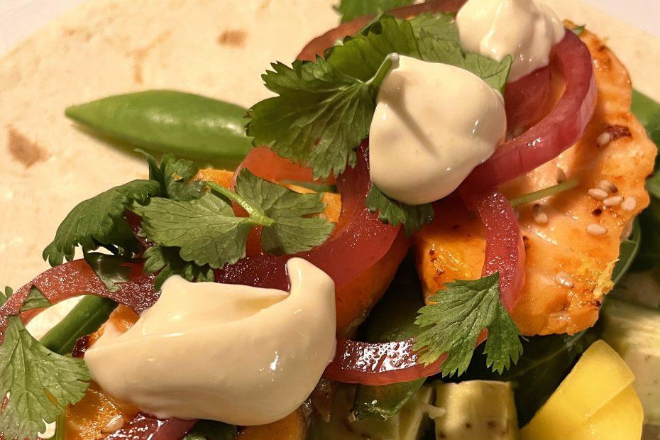 Sunn og god taco