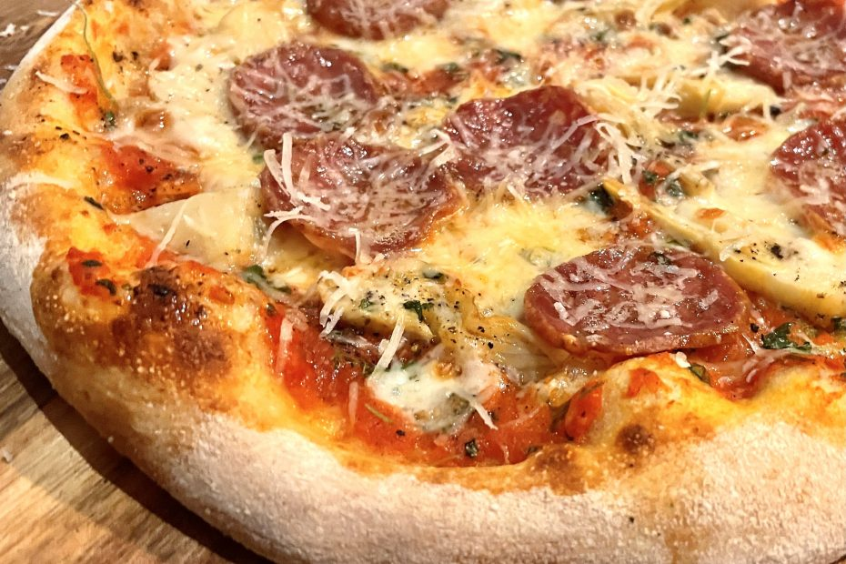 Pizza parmigianino