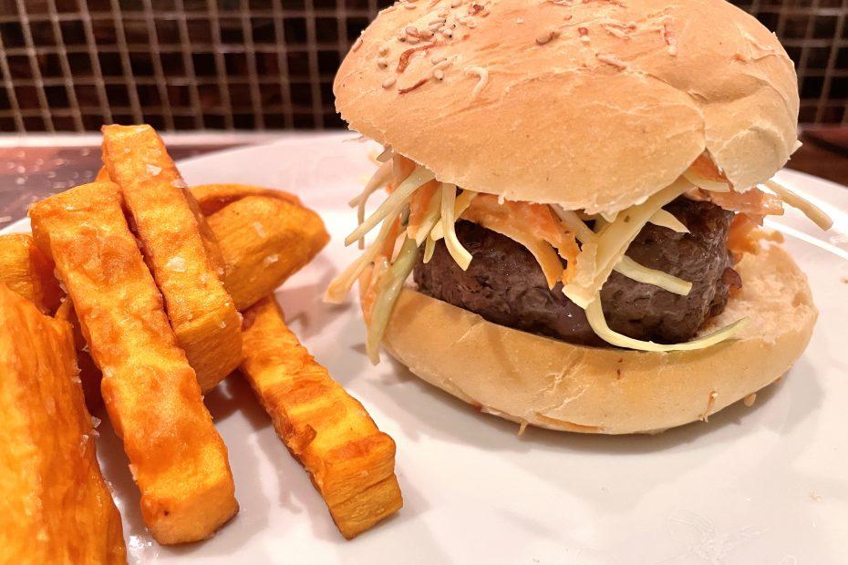 Steike god burger