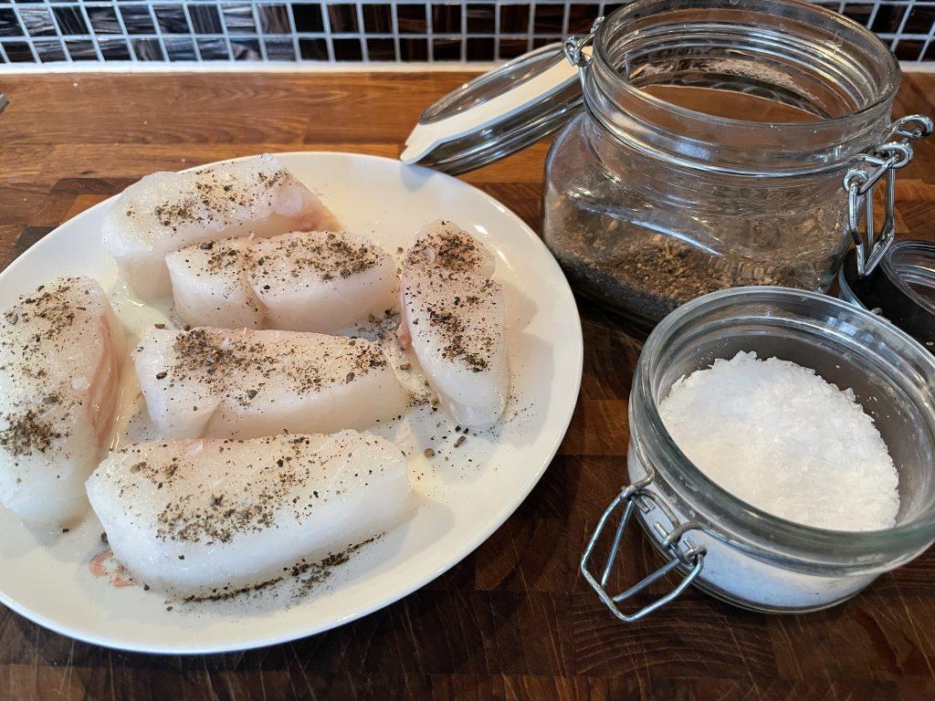 Pannestekt skrei med mine favoritt poteter