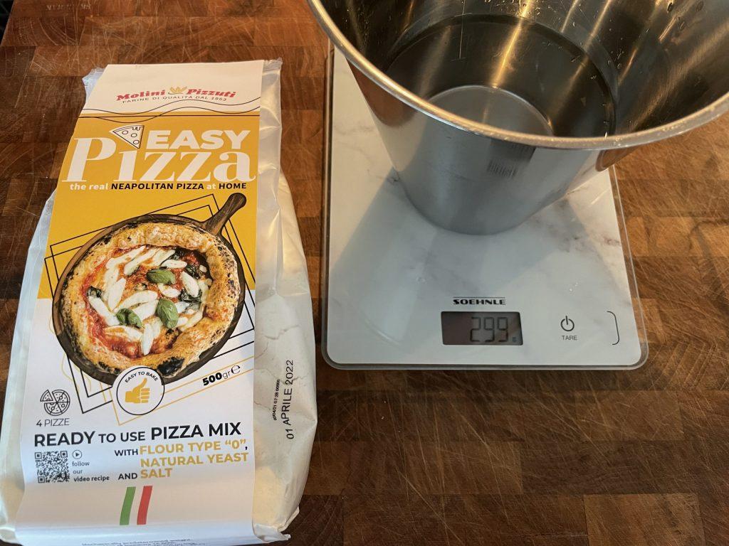 Test av Molini pizza miks