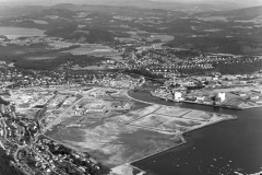 Nordsileiret fotografert fra lufta tidlig på 1980-tallet.