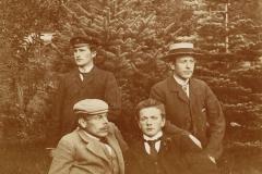 Vaartun Havebrugsskole. Foto Contstance Siem, 1901..