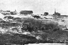 Egge-kirke-og-Egge-gard-1800