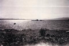 Tysk-ubåt-utenfor-Paradisbukta-sommeren-1941.-Foto-Willy-Berntsen