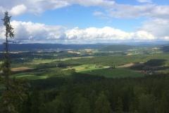 Utsikt fra Kjøråsvåttån 2016