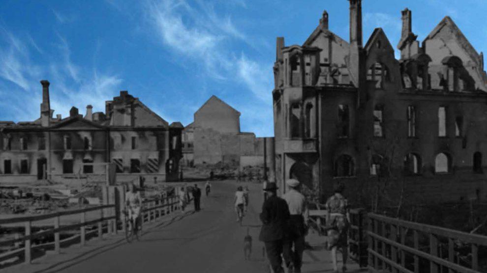 Dagligliv og oppvekst i en bomba by