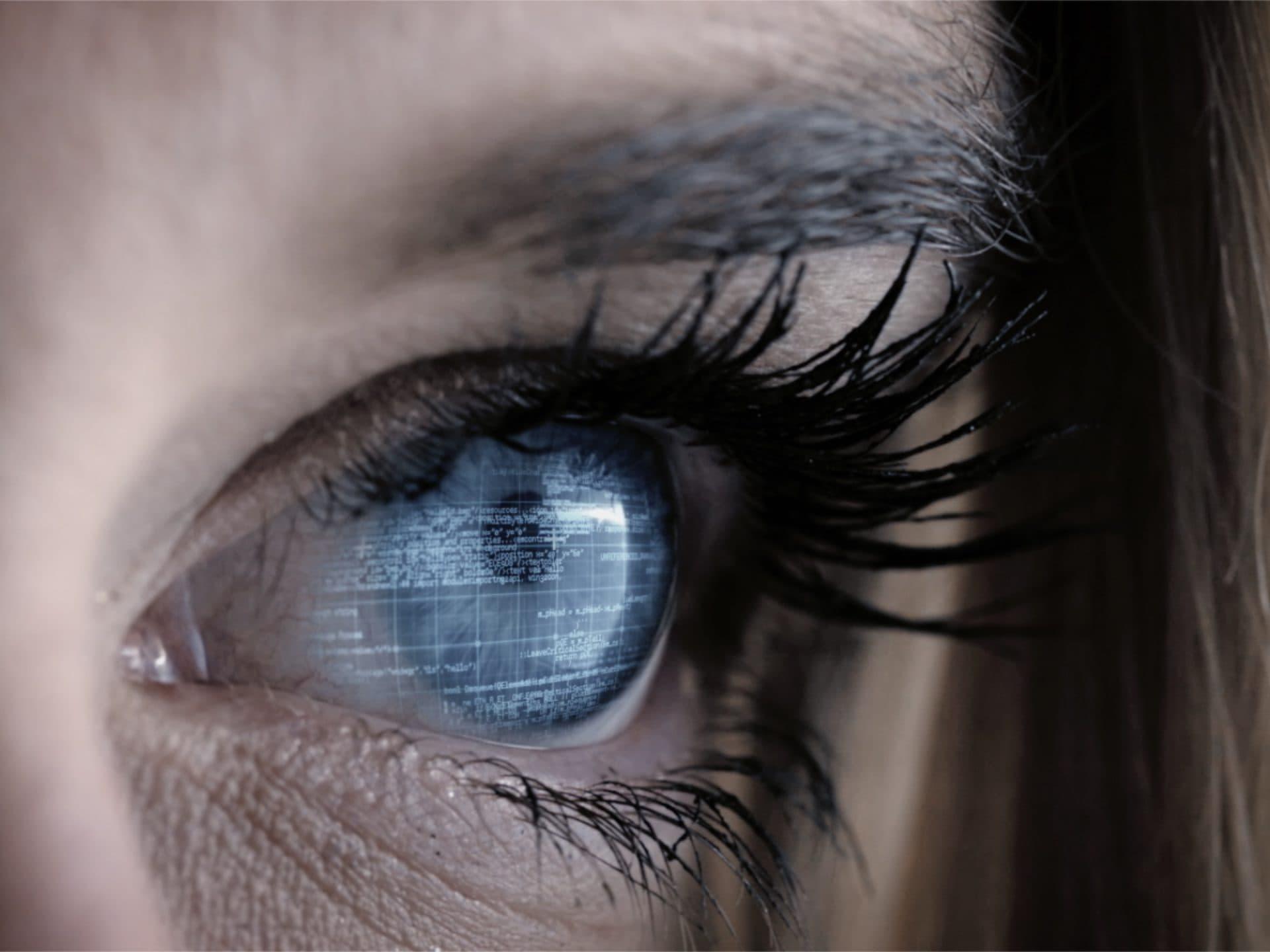 Computer Auge
