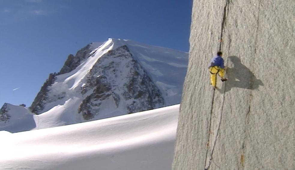 Alpiniste Aiguille du Midi, Savoie