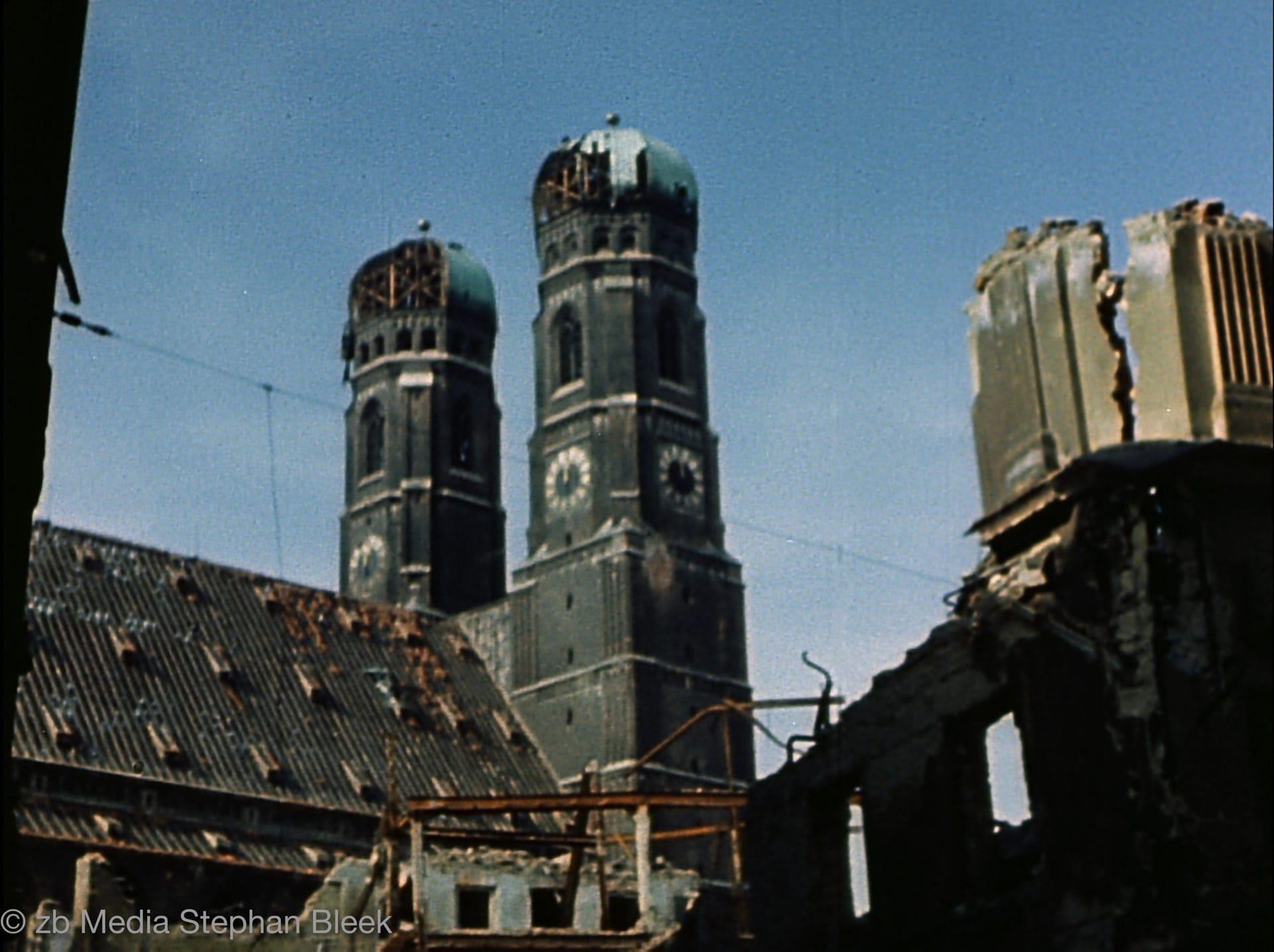 München 1945 Frauenkirche