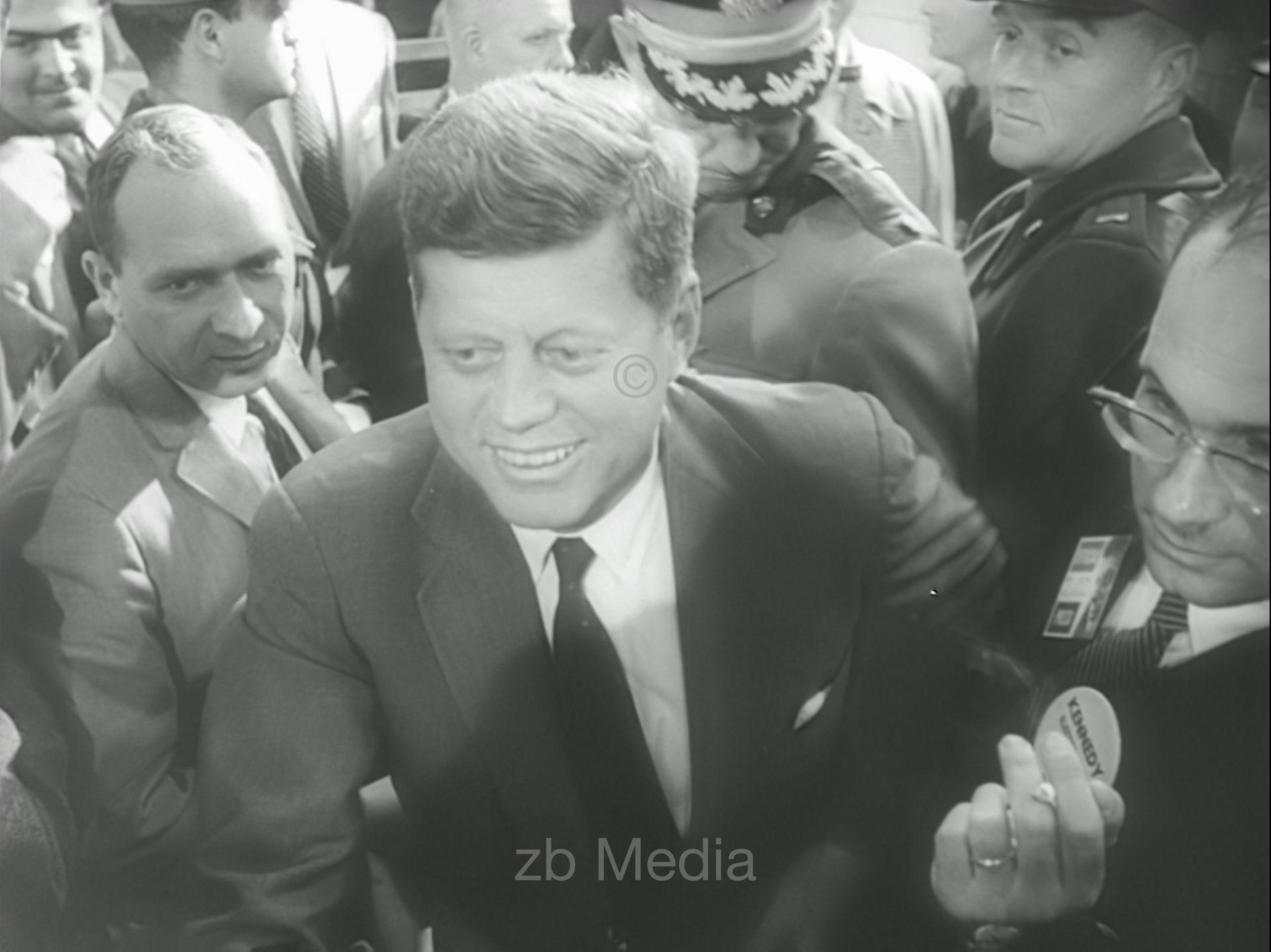 Wahlsieger John F. Kennedy 1960