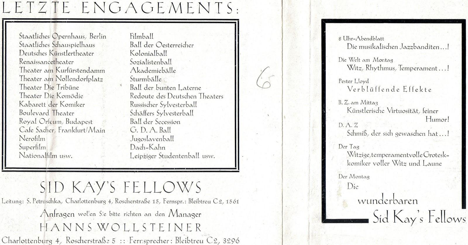 Sid Kays Fellows