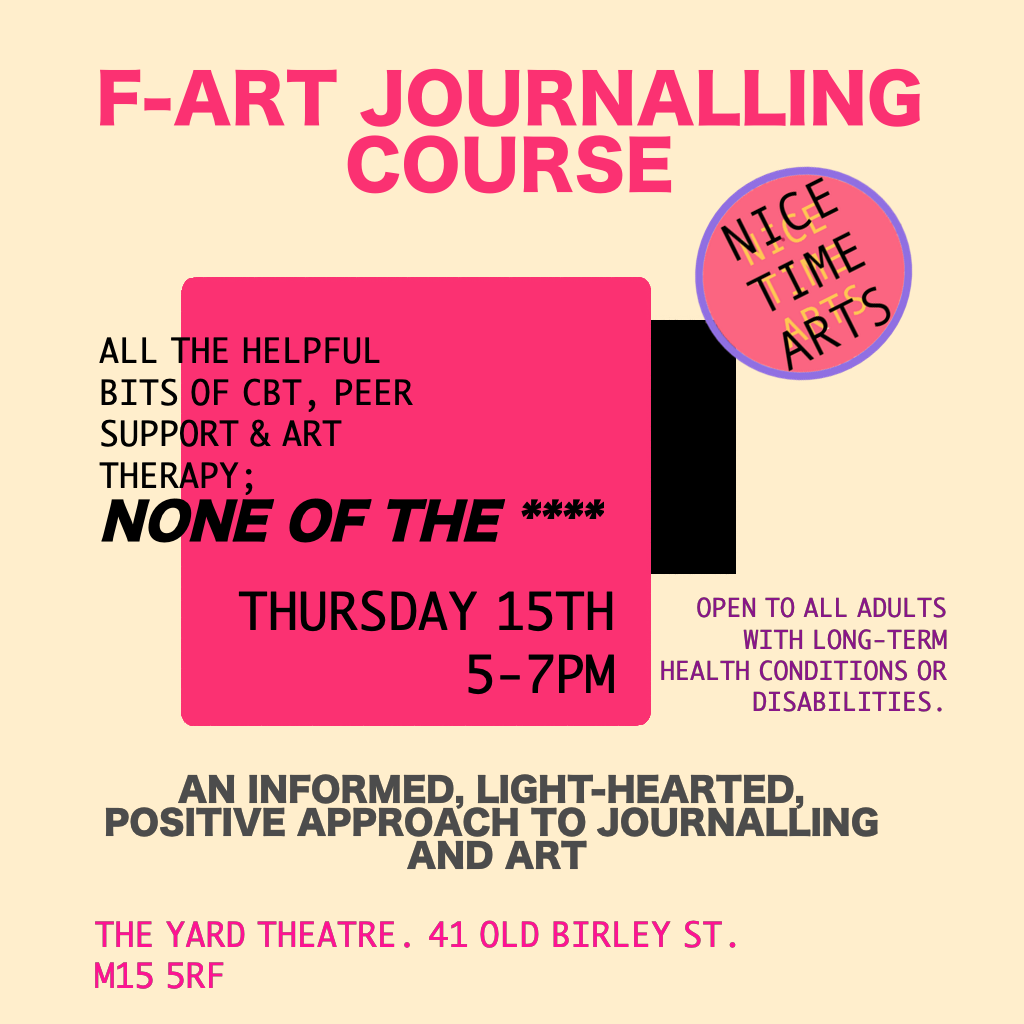 Journalling Course – Still Ill x cbt/art therapy