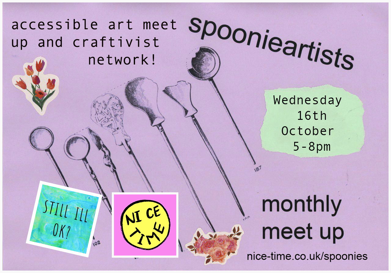 spoonie artists: unite on wednesday!