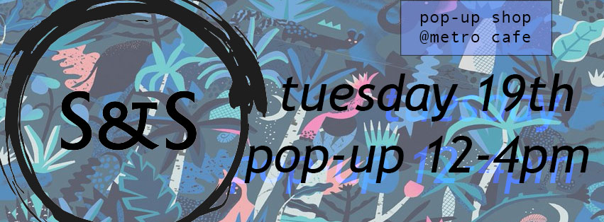 Pop-up @ Chorlton Metro Cafe – get yer gifts n cards n stuff local!