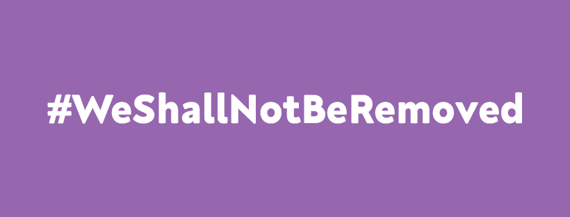 #WeShallNotBeRemoved Campaign launches today and gets to trending #2 on UK Twitter