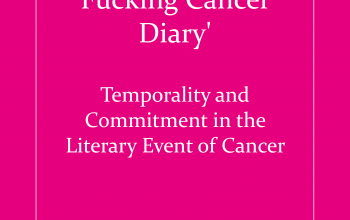 An image of the cover of this publication: A bright pink background, with a simple white box outline inside which is the title of the publication and the name of the author