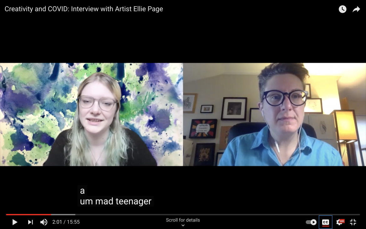 Mad in America interviews Ellie…