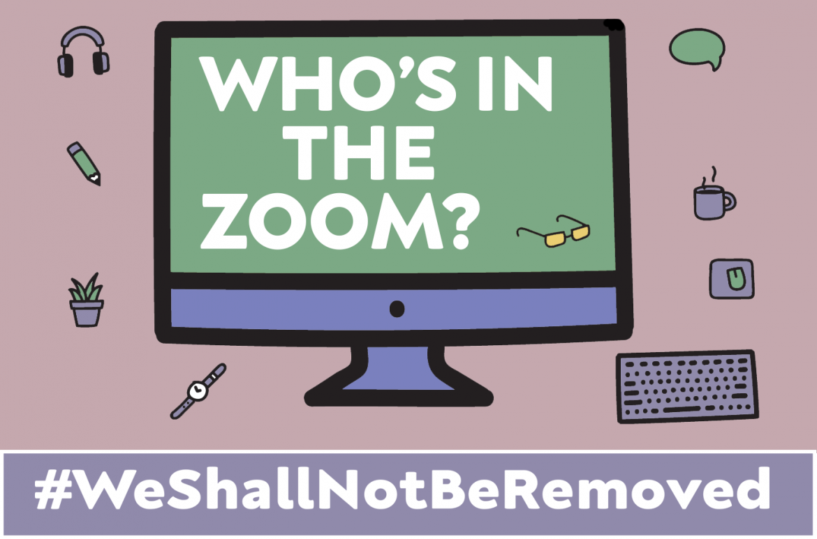 Exciting, Free & BSL & Live Captioned Events Coming Up with #WeShallNotBeRemoved