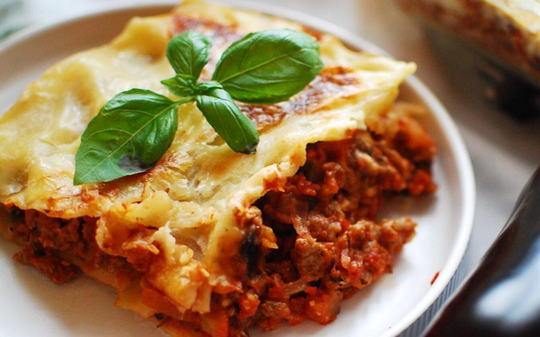 En hälsosammare lasagne
