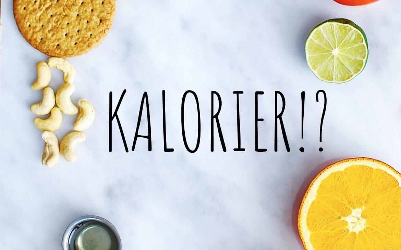 Kalorier=Energi