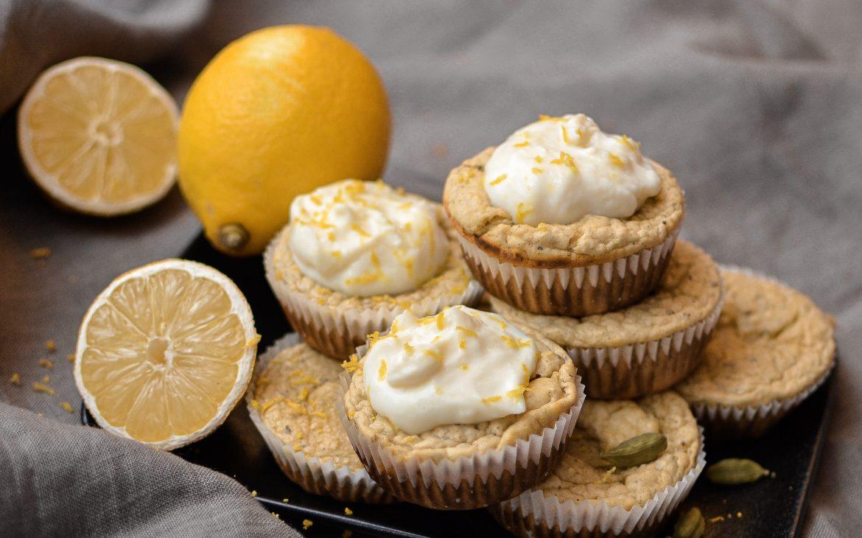 Kardemummamuffins med vaniljdrömmar och en touch av citron
