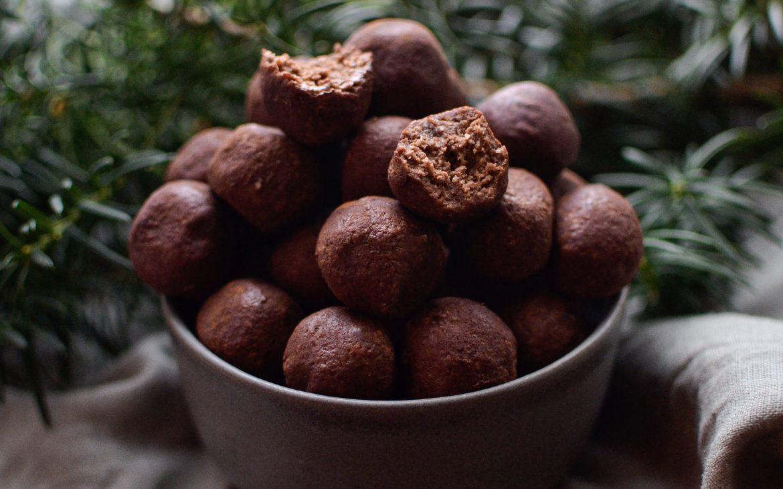 Mintchokladbollar