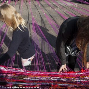 Street weaving