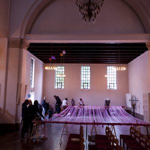 Church weaving at Ansgar church