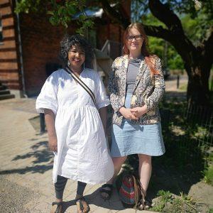 Initiativtager til Fredsprojektet, Uzma Ahmed og Stine Linnemann