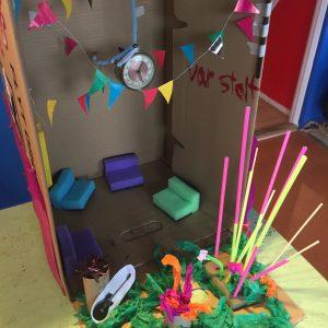 Min gruppes bud på en alternativ a-kasse, lavet som del af en workshop