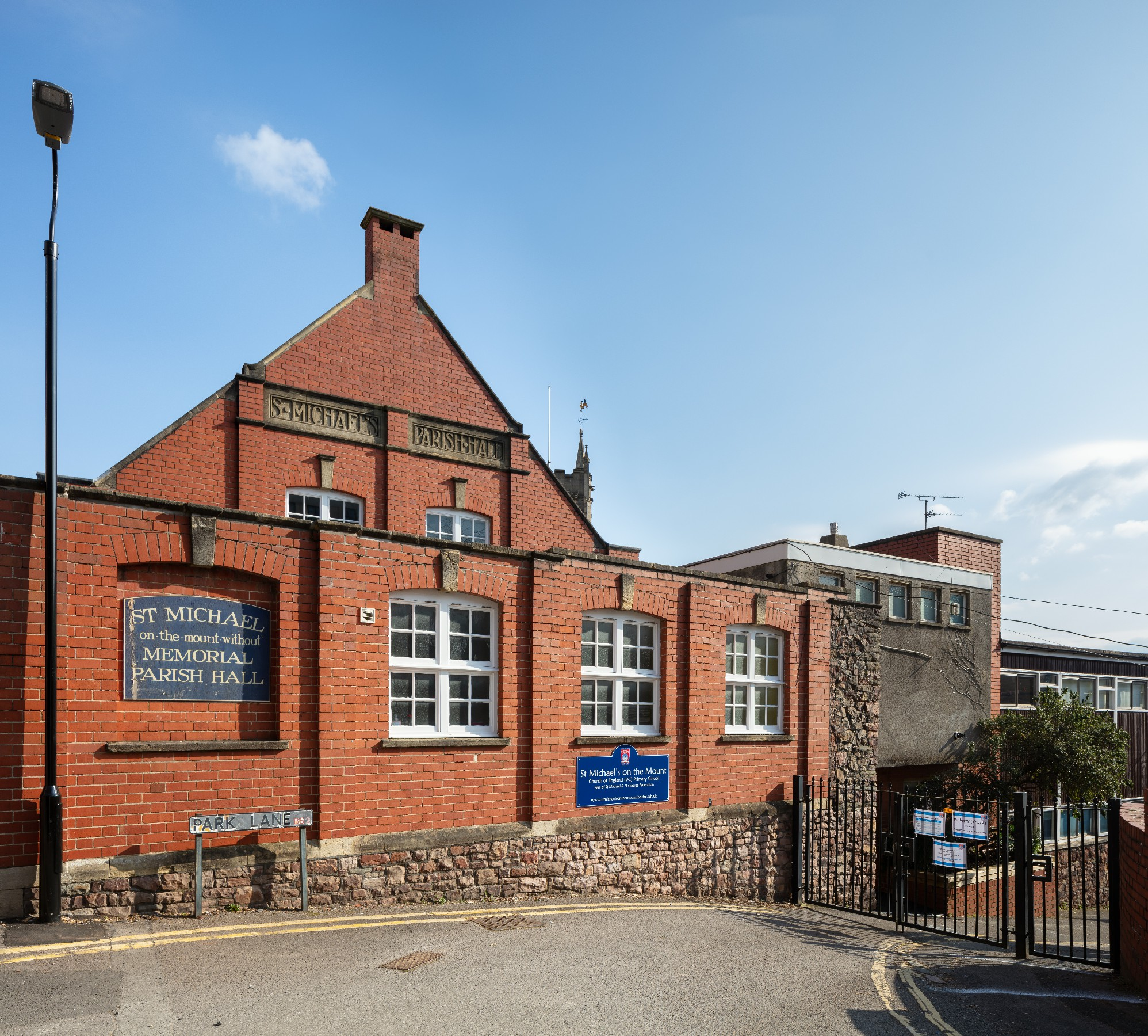 St Michael's Parish Hall is a community hall in the centre of Bristol, held by a charitable trust. The hall was established for the use of local residents.
