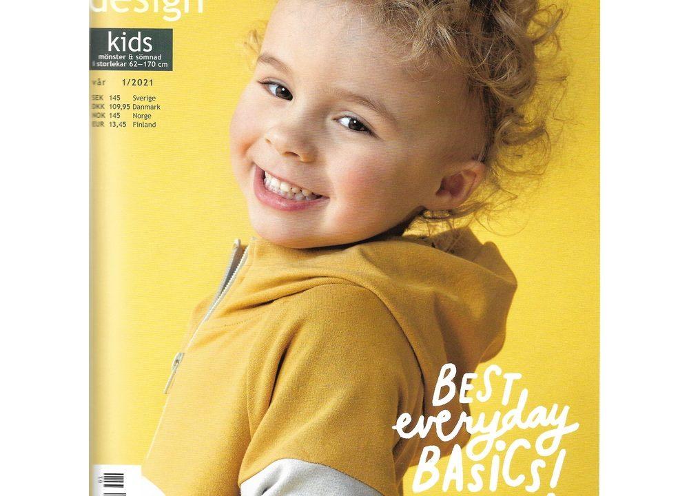 Ottobre børn 1-2021. Sy basistøj til børn fra 0 til 16 år