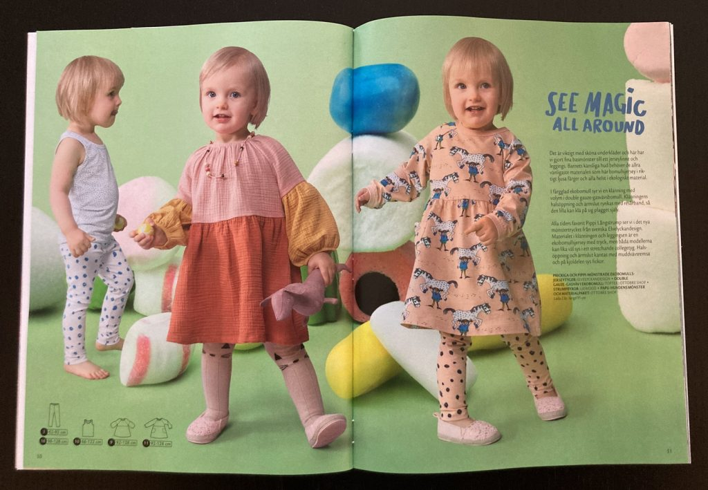 Ottobre Kids - sy kjoler til børn