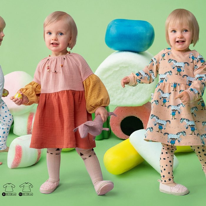 Ottobre børn 1-2021. Fin kjole i musselin