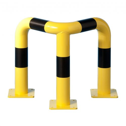 Hjørnebeskyttelsesbarrierer 50 x 50 cm i diameter 89 mm