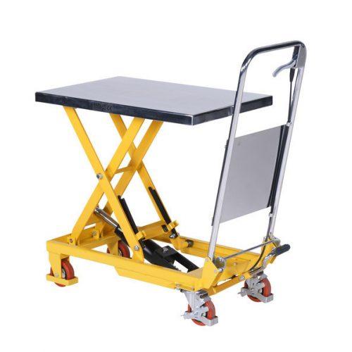 Løftebord med fodpumpe