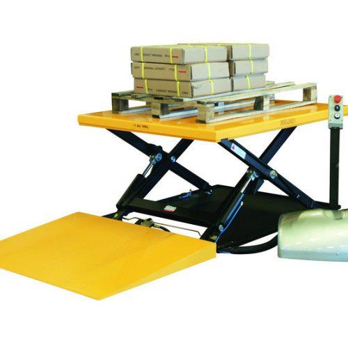 Løftebord+RAMP 1000 KG 1450x1140 lav Storak