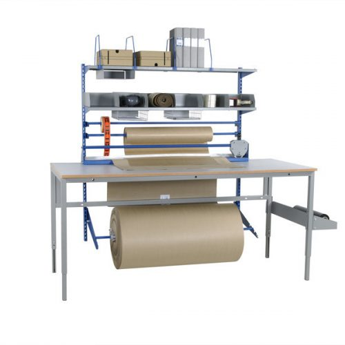 Pakkebordssæt til 2m arbejdsbord Storak