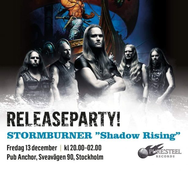 "Releaseparty for album ""Shadow Rising"" December 13, 2019 at Pub Anchor"